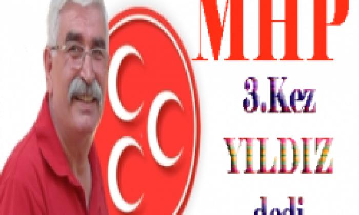 Recep Yıldız 3. Kez MHP Çaykara İlçe Başkanı Seçildi