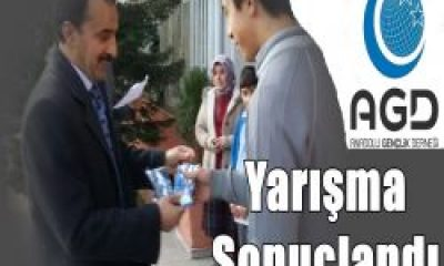 Anadolu Gençlik Derneğinin Siyer-i Nebi Yarışması Sonuçlandı