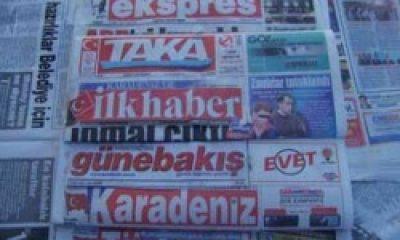 Trabzon Basınında Bugünün Başlıkları