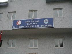 Hastaneye M. İlhan Durgun Tabelası Takıldı