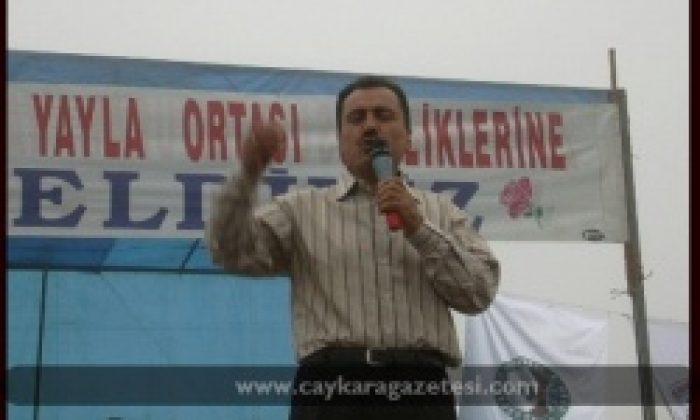 Muhsin Yazıcıoğlu Sultanmurat Şenliklerinde