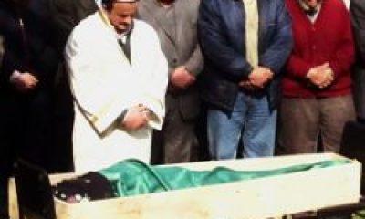 Cenazesini Oğlu Kıldırdı-Fotoğraflı