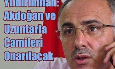 Akdoğan ve Uzuntarla Camileri Onarılacak