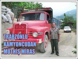 Trabzonlu Kamyoncu Olmak Böyle bir Şey