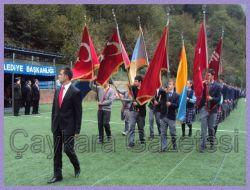 Çaykara'da Cumhuriyet Coşkusu