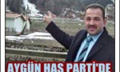 Abdullah Aygün Has Parti'de