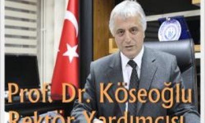 Prof. Mustafa Köseoğlu Rektör Yardımcısı Oldu