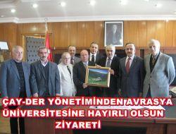 Avrasya Üniversitesine Ziyaret 1