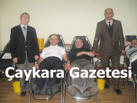 Çay-Der Üyelerinden Kızılay'a Kan Bağışı Yapıldı 4