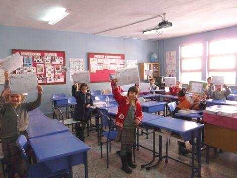 Öğrenciler Karnelerini Aldı 4
