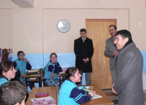 Kaymakam Taşkıran M.Özer İlköğretim Okulunu Ziyaret Etti 2