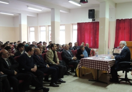 Prof. Dr. Nevzat Yalçıntaş Öğrencilere Konferans Verdi 2