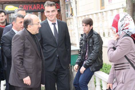 Orhan Fevzi Gümrükçüoğlu Çaykara'da Ziyaretlerde Bulundu 2