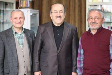 Orhan Fevzi Gümrükçüoğlu Çaykara'da Ziyaretlerde Bulundu 3