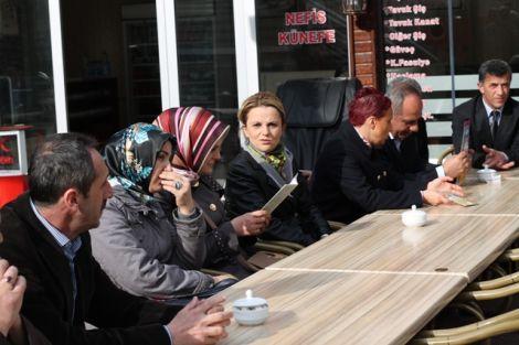 Orhan Fevzi Gümrükçüoğlu Çaykara'da Ziyaretlerde Bulundu 4