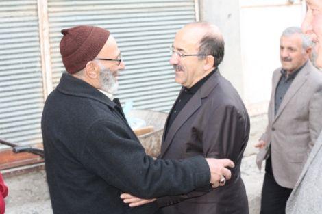 Orhan Fevzi Gümrükçüoğlu Çaykara'da Ziyaretlerde Bulundu 6