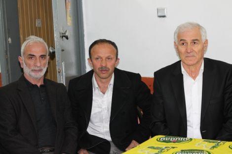 Orhan Fevzi Gümrükçüoğlu Çaykara'da Ziyaretlerde Bulundu 7