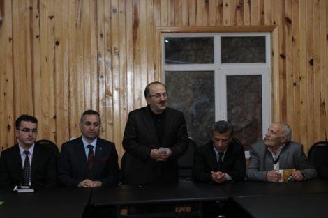 Orhan Fevzi Gümrükçüoğlu Çaykara'da Ziyaretlerde Bulundu 9