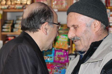 Orhan Fevzi Gümrükçüoğlu Çaykara'da Ziyaretlerde Bulundu 15