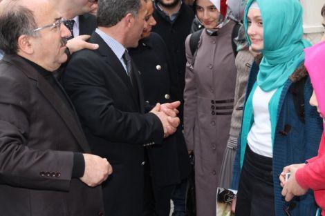 Orhan Fevzi Gümrükçüoğlu Çaykara'da Ziyaretlerde Bulundu 16
