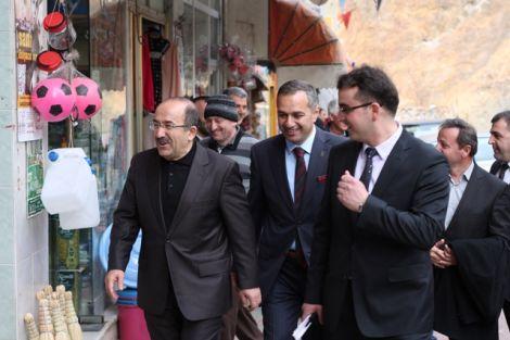 Orhan Fevzi Gümrükçüoğlu Çaykara'da Ziyaretlerde Bulundu 17