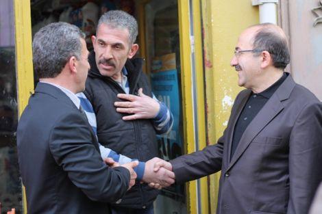 Orhan Fevzi Gümrükçüoğlu Çaykara'da Ziyaretlerde Bulundu 19