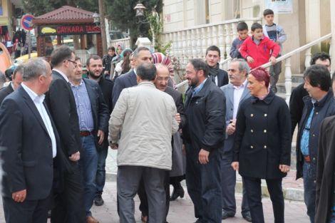 Orhan Fevzi Gümrükçüoğlu Çaykara'da Ziyaretlerde Bulundu 23