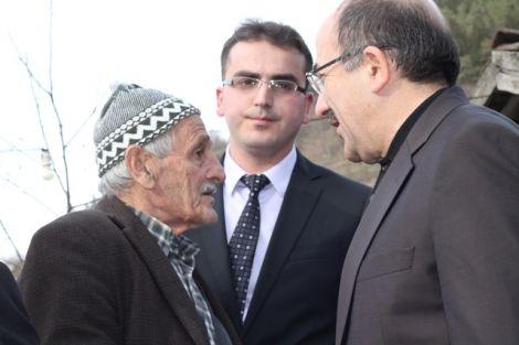 Orhan Fevzi Gümrükçüoğlu Çaykara'da Ziyaretlerde Bulundu 25