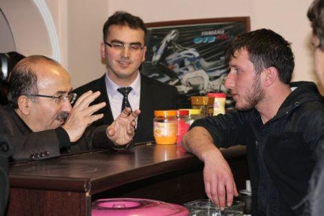 Orhan Fevzi Gümrükçüoğlu Çaykara'da Ziyaretlerde Bulundu 27