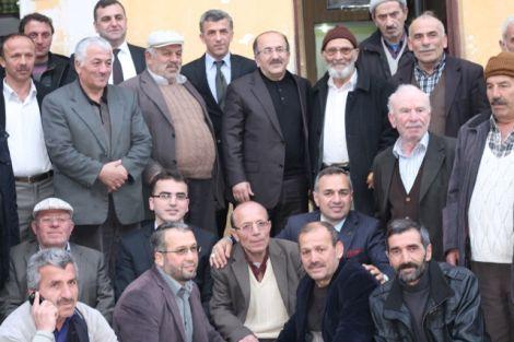 Orhan Fevzi Gümrükçüoğlu Çaykara'da Ziyaretlerde Bulundu 28