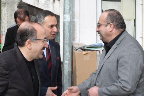 Orhan Fevzi Gümrükçüoğlu Çaykara'da Ziyaretlerde Bulundu 29