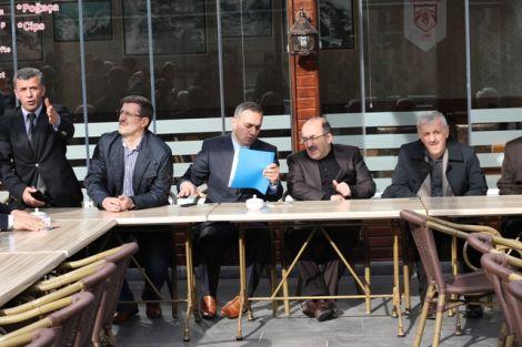 Orhan Fevzi Gümrükçüoğlu Çaykara'da Ziyaretlerde Bulundu 30