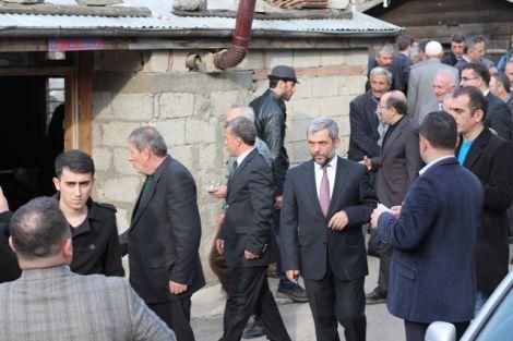Orhan Fevzi Gümrükçüoğlu Çaykara'da Ziyaretlerde Bulundu 32