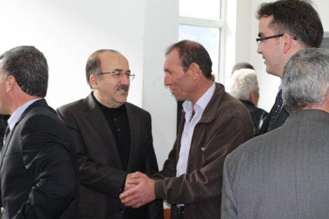 Orhan Fevzi Gümrükçüoğlu Çaykara'da Ziyaretlerde Bulundu 34