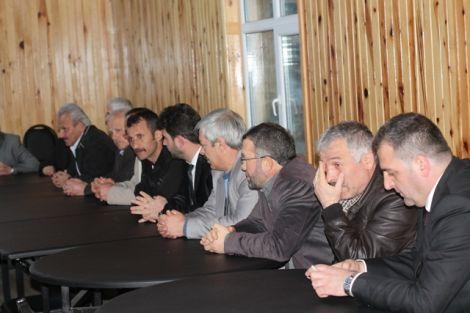 Orhan Fevzi Gümrükçüoğlu Çaykara'da Ziyaretlerde Bulundu 35