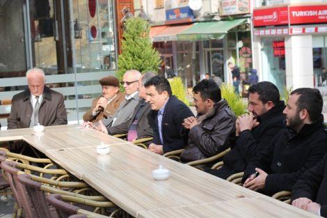 Orhan Fevzi Gümrükçüoğlu Çaykara'da Ziyaretlerde Bulundu 37