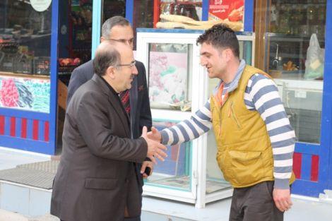Orhan Fevzi Gümrükçüoğlu Çaykara'da Ziyaretlerde Bulundu 38
