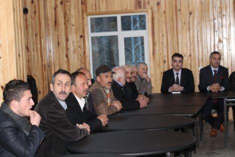 Orhan Fevzi Gümrükçüoğlu Çaykara'da Ziyaretlerde Bulundu 42