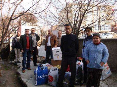 Ankara Çaykaralılardan Suriye'ye Yardım 2