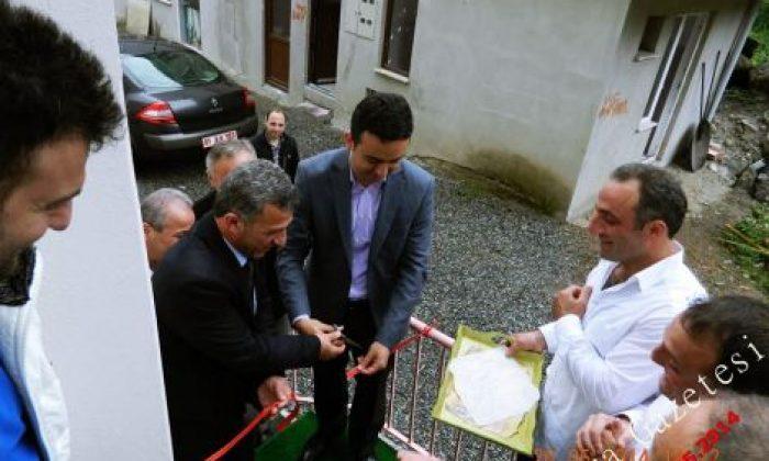 Çaykara'da Aydınlı Pansiyon Açıldı