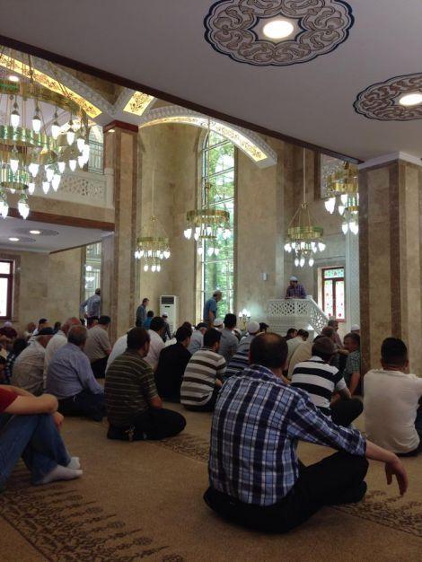 Hurmalık Cami İbadete Açıldı 7