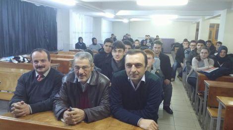 Gazeteci Sadık Albayrak Anadolu Lisesini Ziyaret Etti 2