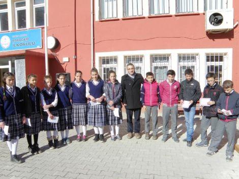 Karaçam Ortaokulunda Karne Heyecanı 3