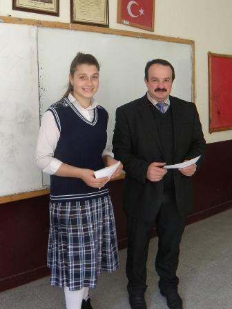 Karaçam Ortaokulunda Karne Heyecanı 8