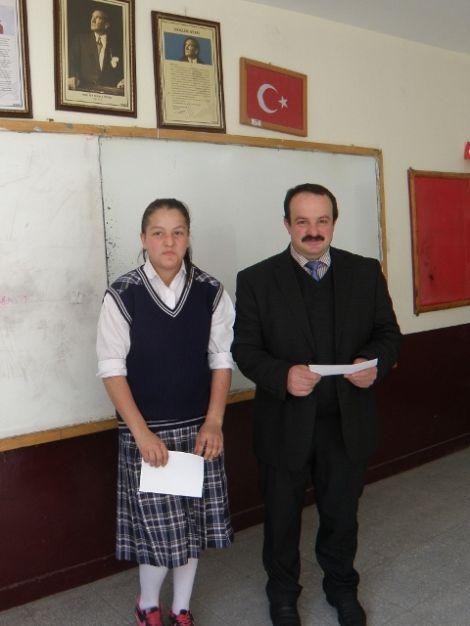 Karaçam Ortaokulunda Karne Heyecanı 6
