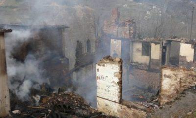 Maraşlı Köyünde Yangın