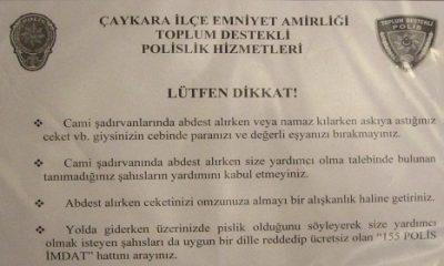 Emniyet'ten Uyarı: Abdest Alırken Dikkat Edin